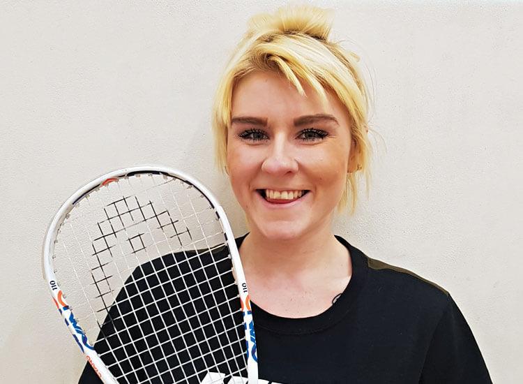 Alice Harvey squash coach